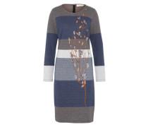 Jerseykleid 'Lisa' blau / grau