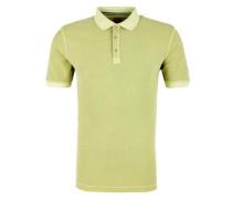 Slim: Poloshirt mit Struktur apfel