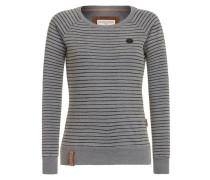 Sweatshirt 'Eingerittene' marine / grau