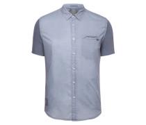 Shirt Rave blau