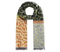 Softer Leo-Schal im trendigen Multicolor-Design