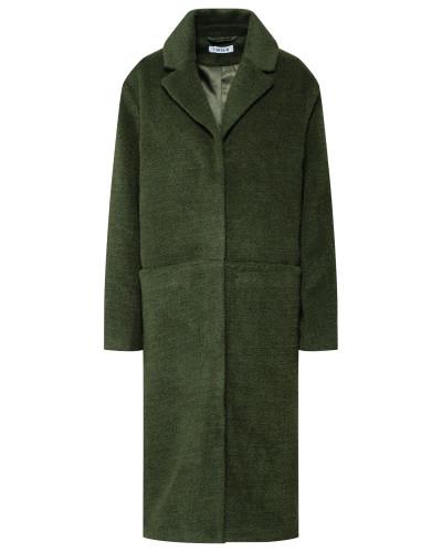 Mantel 'Carol' grün / khaki