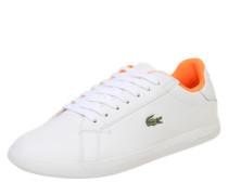 Sneaker 'graduate' orange / weiß