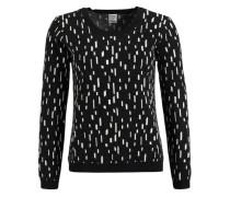 Pullover 'olara' schwarz / weiß