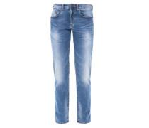 Close Slim: Helle Jeans blau