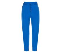 Hose aus Cupro 'Sadina2' blau