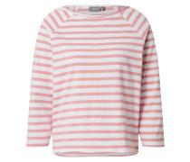 Shirt 'byshan' weiß / pink