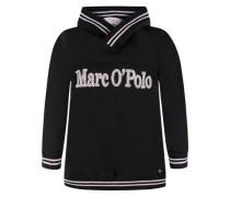 Kapuzensweatshirt Jungen Kinder Kinder schwarz
