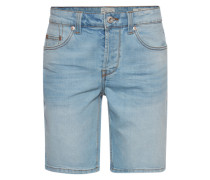 Jeansshorts 'Loom light blue' hellblau