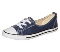 Chuck Taylor All Star Ballet Lace Sneaker Damen blau / weiß