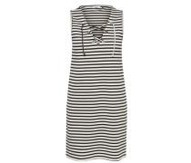 Schnür-Kleid ohne Ärmel weiß