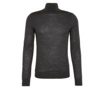 Rollkragen-Pullover aus Feinstrick 'San Antonio' dunkelgrau
