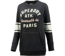 Sweatshirt Damen schwarz