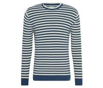Shirt 'Hjuler 6780' weiß / dunkelblau