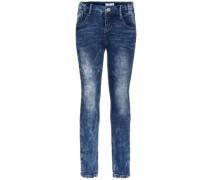 Skinny Fit Jeans 'nitassa' blue denim