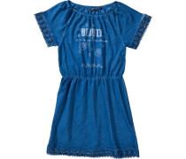Kinder Jerseykleid blau / hellblau