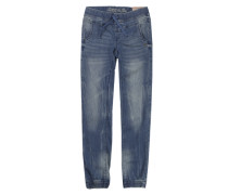 Jeans 'Girls Skinny Mid' blue denim