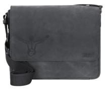 'Valencia Vintage' Messenger Tasche mit Laptopfach schwarz