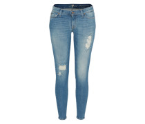 Jeans 'The Skinny Crop' blau
