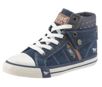 Shoes Schnürboots blue denim