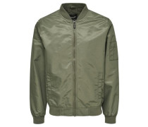Bomber-Jacke grün