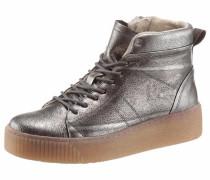 Sneaker 'Pieces' silbergrau