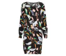 Kleid 'Caldiz' mischfarben / schwarz