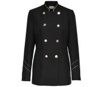 Detailreiche Jacke schwarz