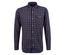Regular: Kariertes Button-Down-Hemd mischfarben