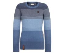 Female Knit Global asozial am blasen blau