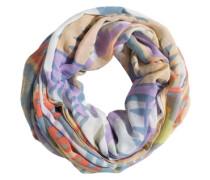 PIECES Tube-Schal aus Viskose 'Jess' lila/pfirsich/mischfarben
