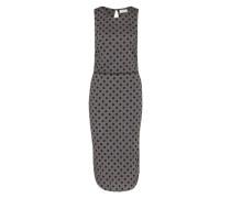 Kleid 'Dot Jersey' grau