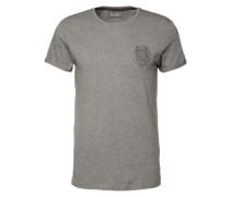 T-Shirt 'Löwe' grau