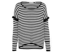 Pullover nachtblau / weiß