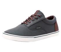 Lässige Sneaker braun / dunkelgrau