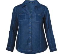 Bluse blau / nachtblau / blue denim