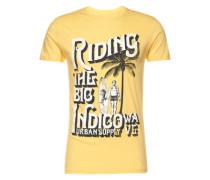 T-Shirt 'Hanlee' gelb