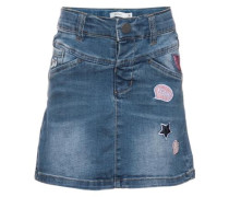 Jeansrock 'nitacille' blue denim