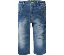 Jeansbermudas für Jungen blau