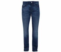 Stretch-Jeans 'Tubx' blue denim