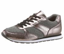 Sneaker taupe / dunkelgrau
