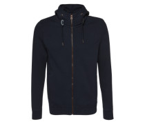 Sweatjacke 'Paolo men's sweat' blau