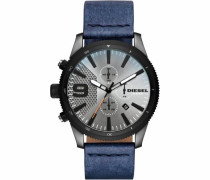 Chronograph 'rasp Chrono 46 Dz4456' blau / anthrazit / silbergrau