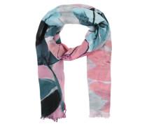 Schal mit Farbverlauf blau / pink