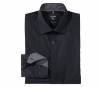 Businesshemd »No.6 super slim« schwarz