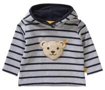 Baby Kapuzenpullover für Jungen grau