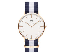 Uhr 'Classic Collection Glasgow' marine / rosé / weiß