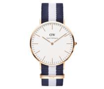 Uhr 'Classic Collection Glasgow' marine / rosé / weiß