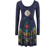 Jerseykleid blau / mischfarben