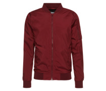 Bomber 'Light Bomber Jacket' burgunder